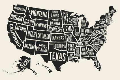 Americke Staty A Jejich Hlavni Mesta Usa